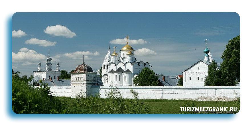 Покровский монастырь в городе Суздале