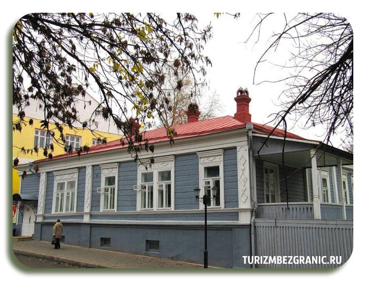 Фасад дома-музея братьев Столетовых
