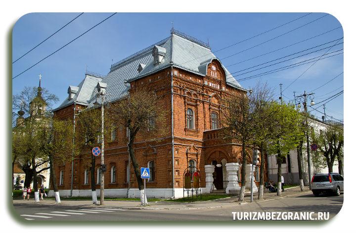 Здание исторического музея Владимира