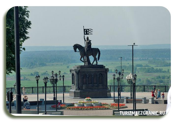 Смотровая площадка парка имени Пушкина