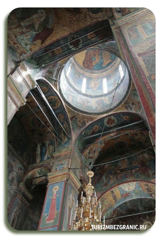 Фрески Успенского собора княгинина монастыря