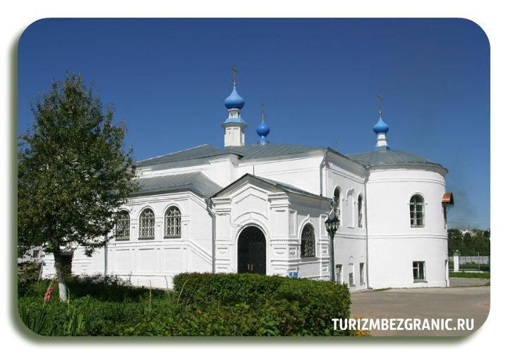 Казанская церковь княгинина монастыря во Владимире