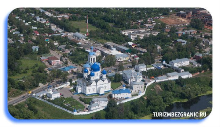 Панорама Свято-Боголюбского монастыря