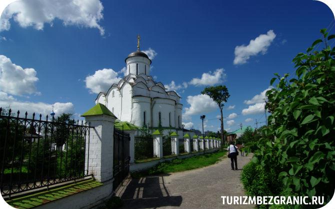 Княгинин монастырь вид с переулка Воровского