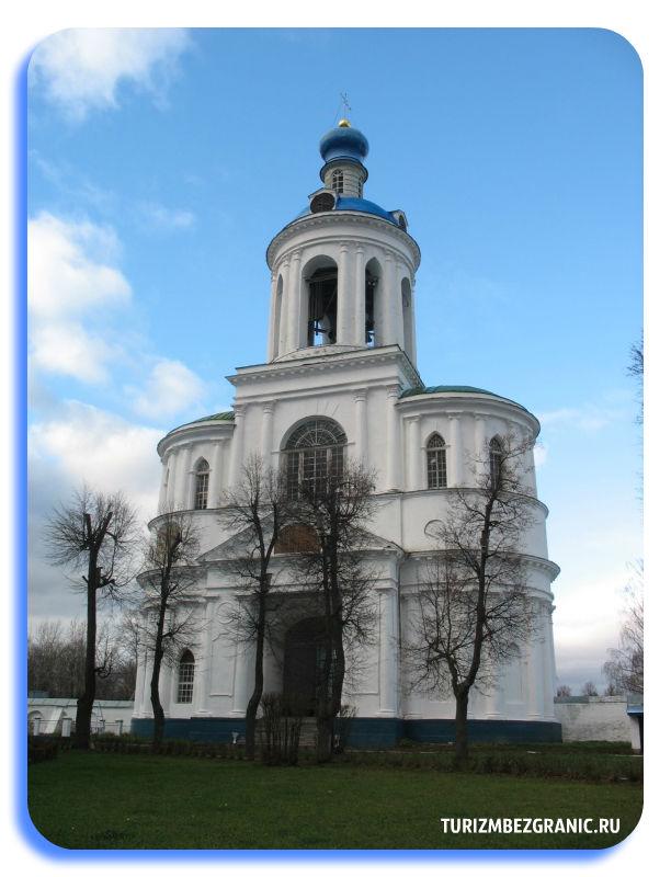 Колокольня Всех Святых со Святыми Воротами,Успенской церковью и звонницей