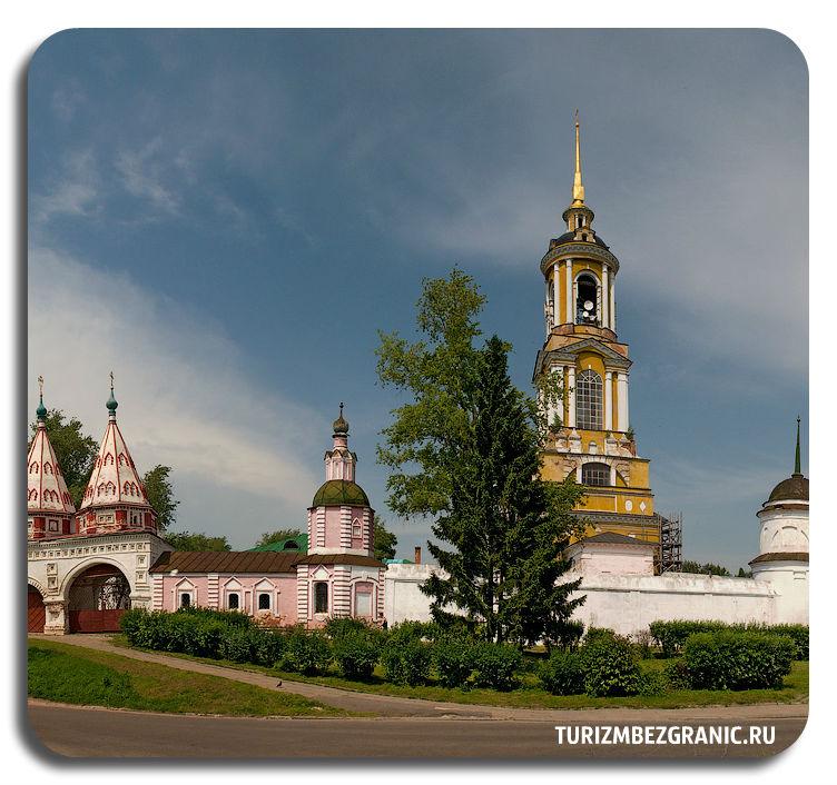Рисоположенский монастырь в Суздале