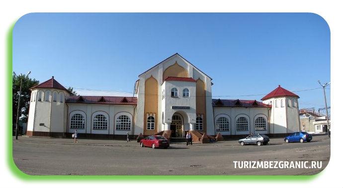 Здание железнодорожного вокзала в Муроме