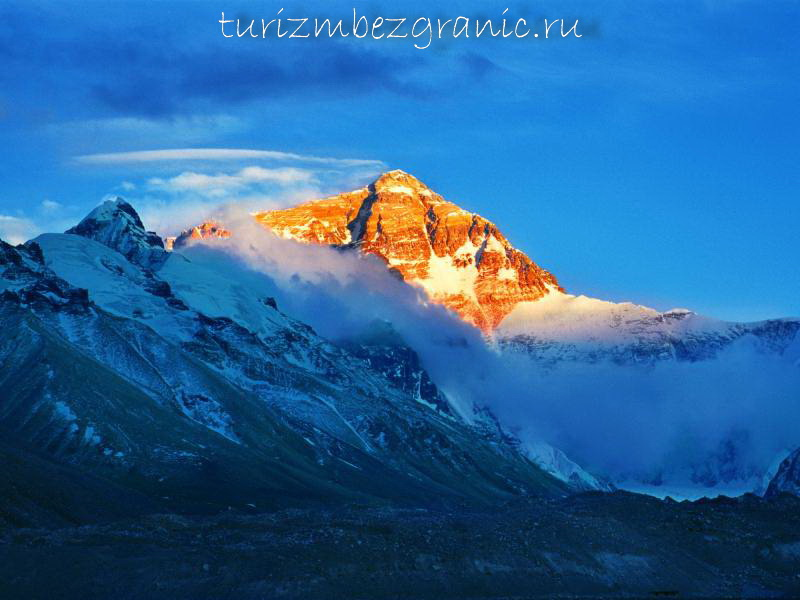 Джомолунгма, Эверест
