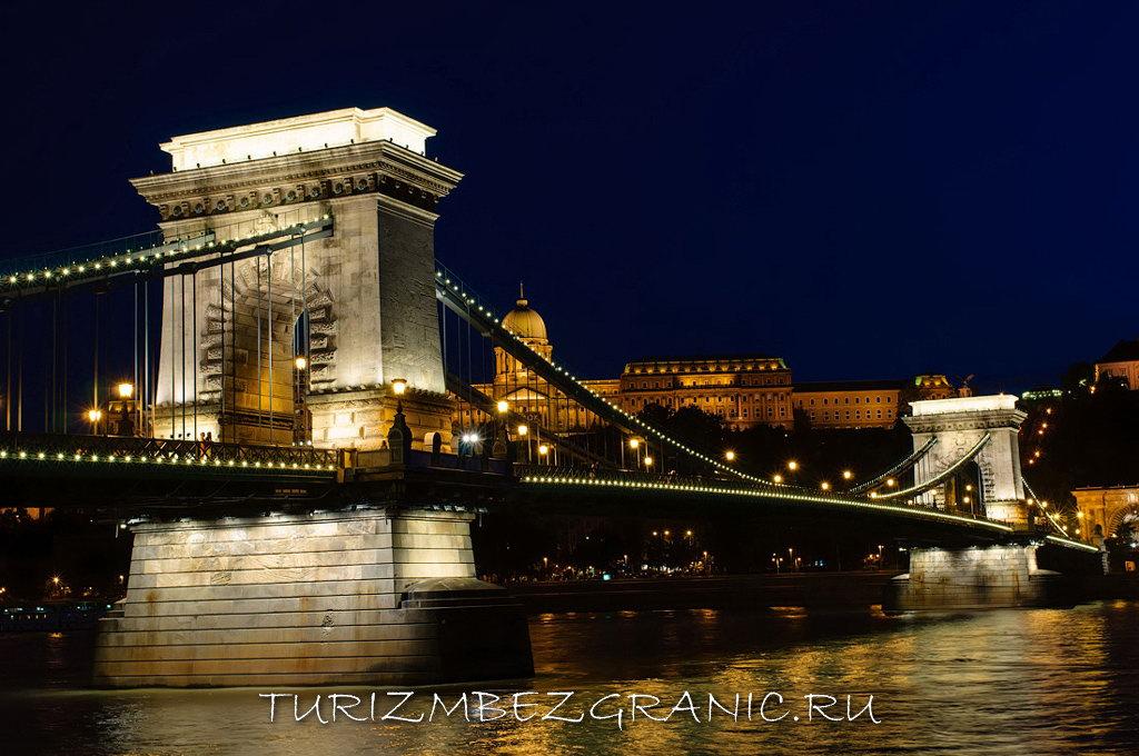 Мост Сечени. Будапешт