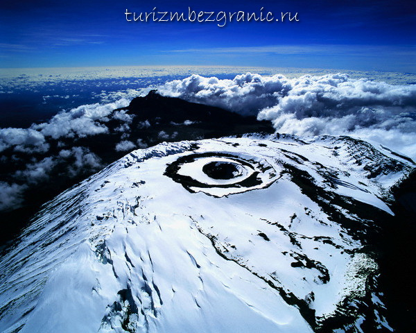 Вершина Килиманджаро, Танзания, Африка
