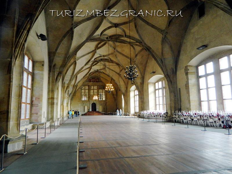 Владиславский зал в старом королевском дворце, Прага