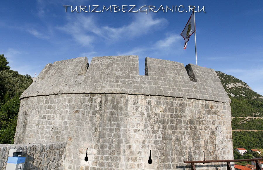 Фортификации в Дубровнике