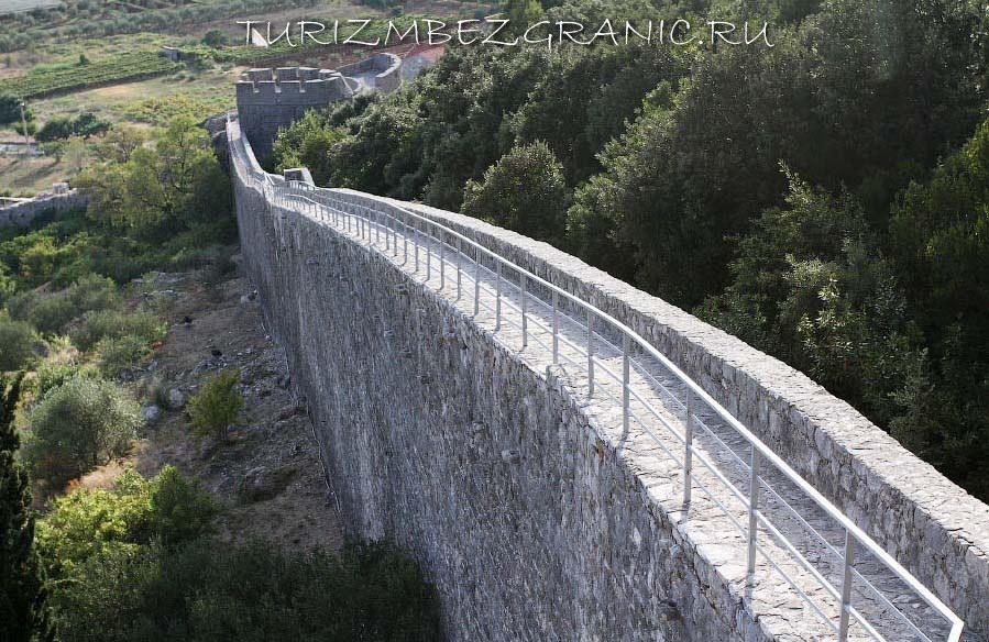 Защитная стена в Дубровнике