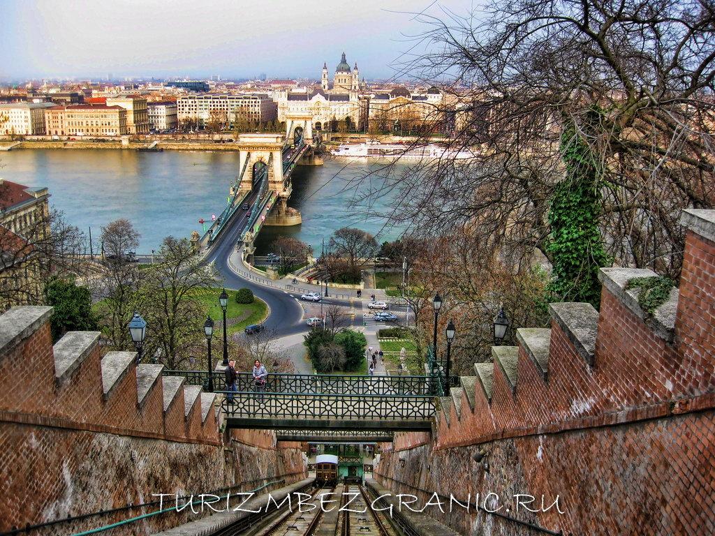Канатная дорога Шикло в Будапеште