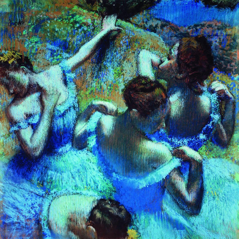 Голубые танцовщицы. Дега