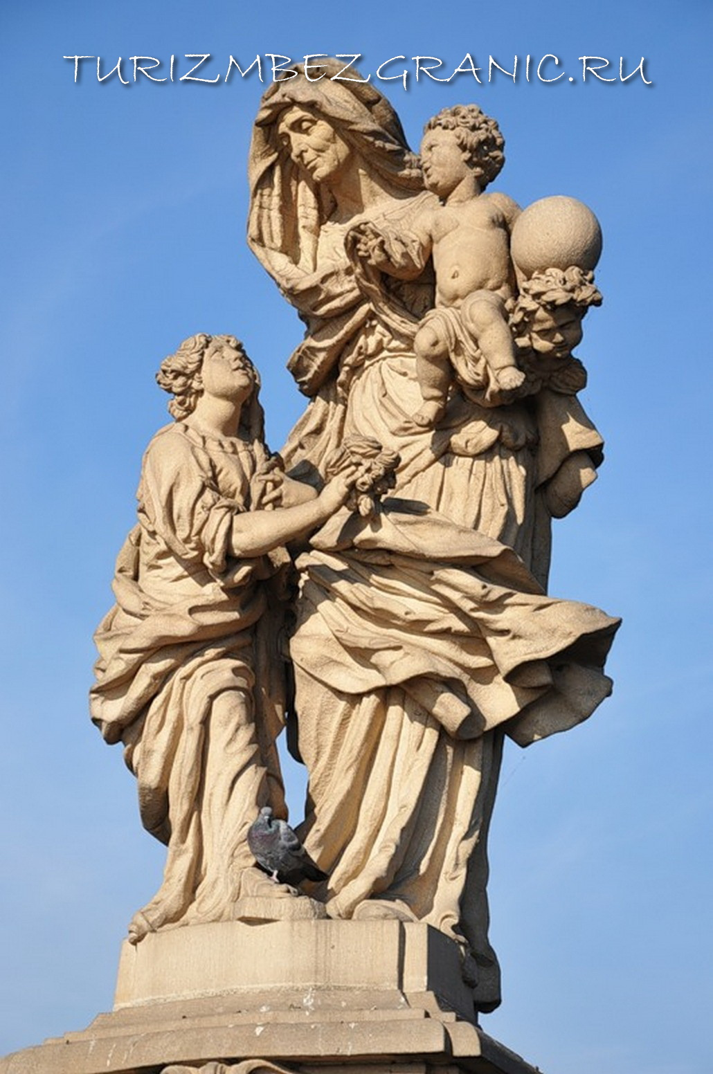 Мать Девы Марии святая Анна. Автор Матей Вацлав Янкель, 1707 год