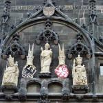 Скульптуры на Староместской башне