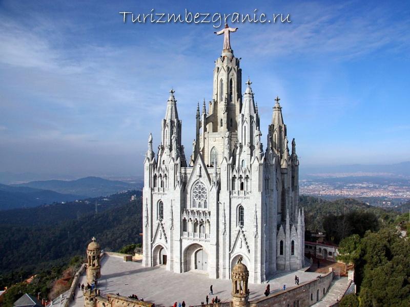 Барселона. Храм Святого Сердца