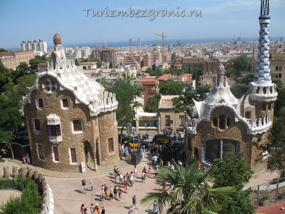 Барселона. Творения гениального архитектора Гауди