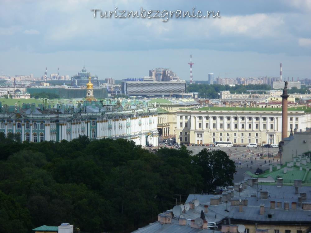 Эрмитаж и Дворцовая площадь, Санкт-Петербург