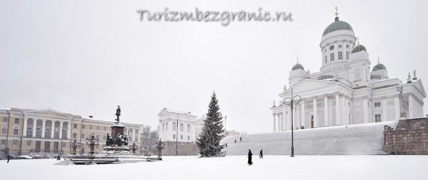 Хельсинки. Памятник Яну Сибелиусу