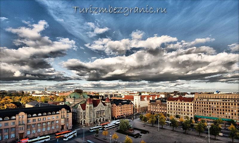 Хельсинки. Панорама