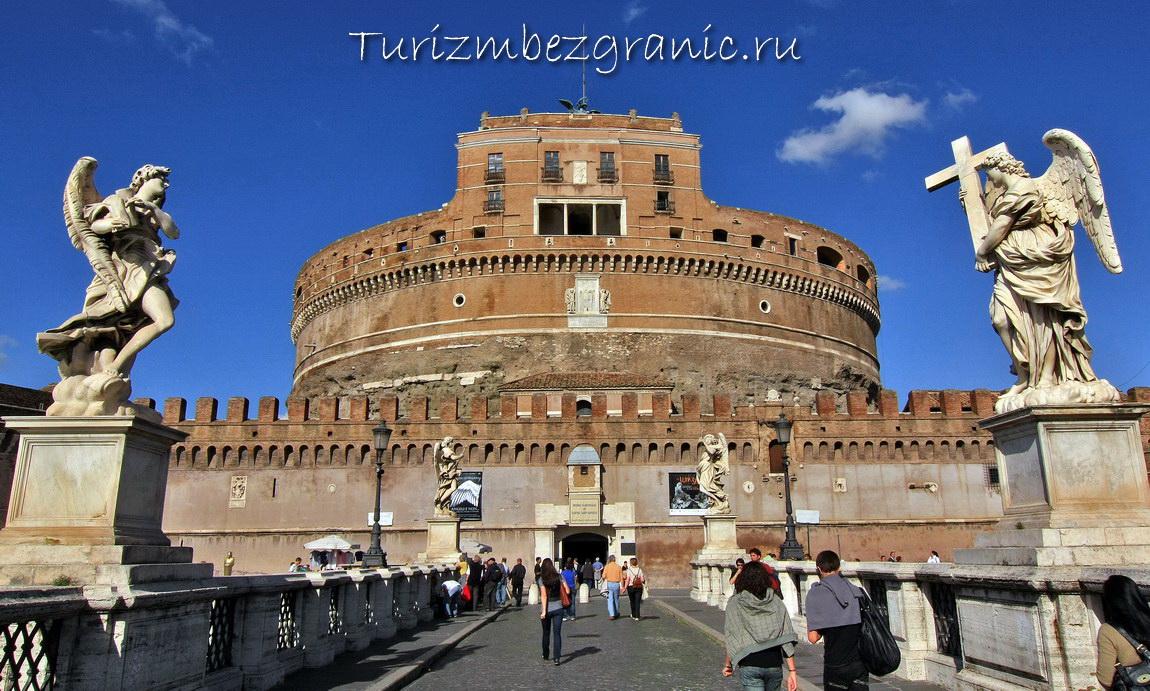 Рим. Замок Святого Ангела