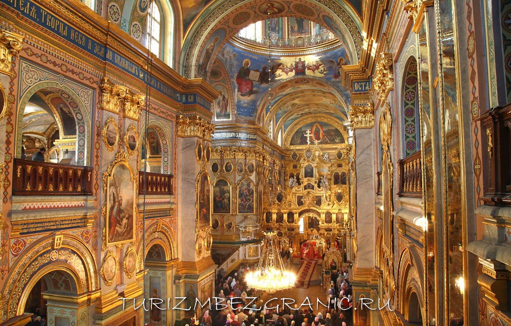 Успенский собор Хельсинки изнутри