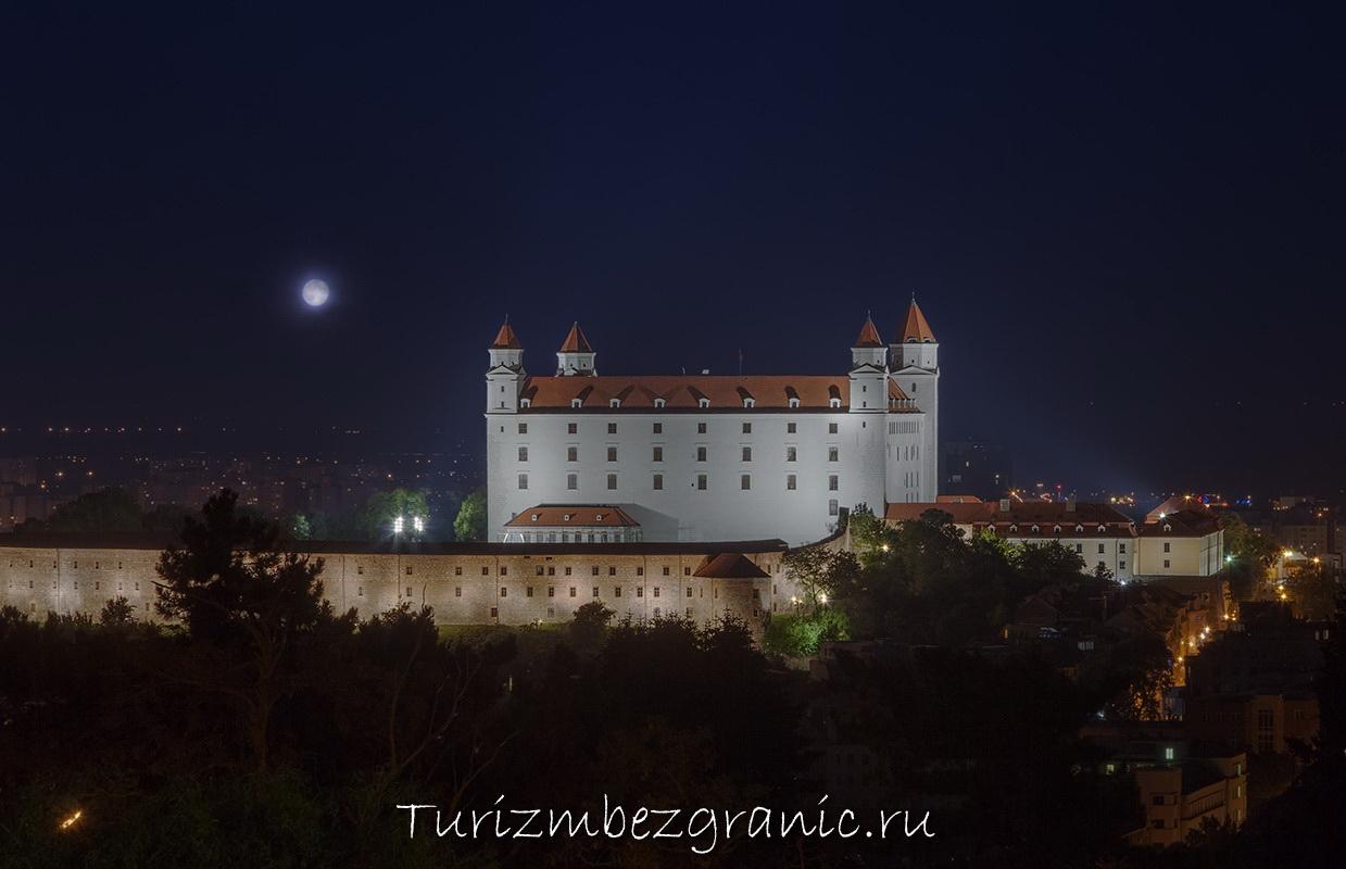 Замок в Братиславе, Братислава, замок, Словакия