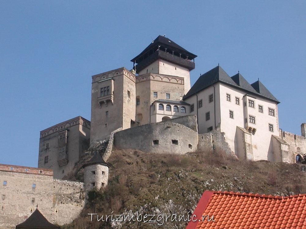 Замок в Тренчине, Словакия