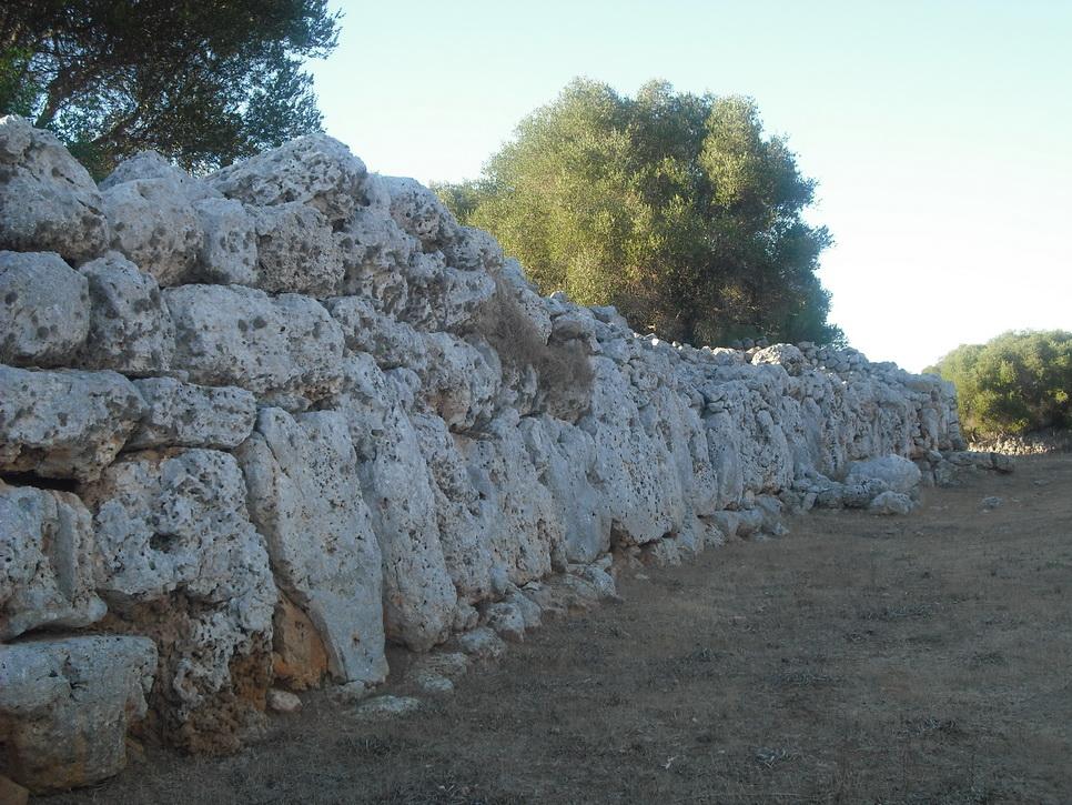 Стены крепости Son Catlar