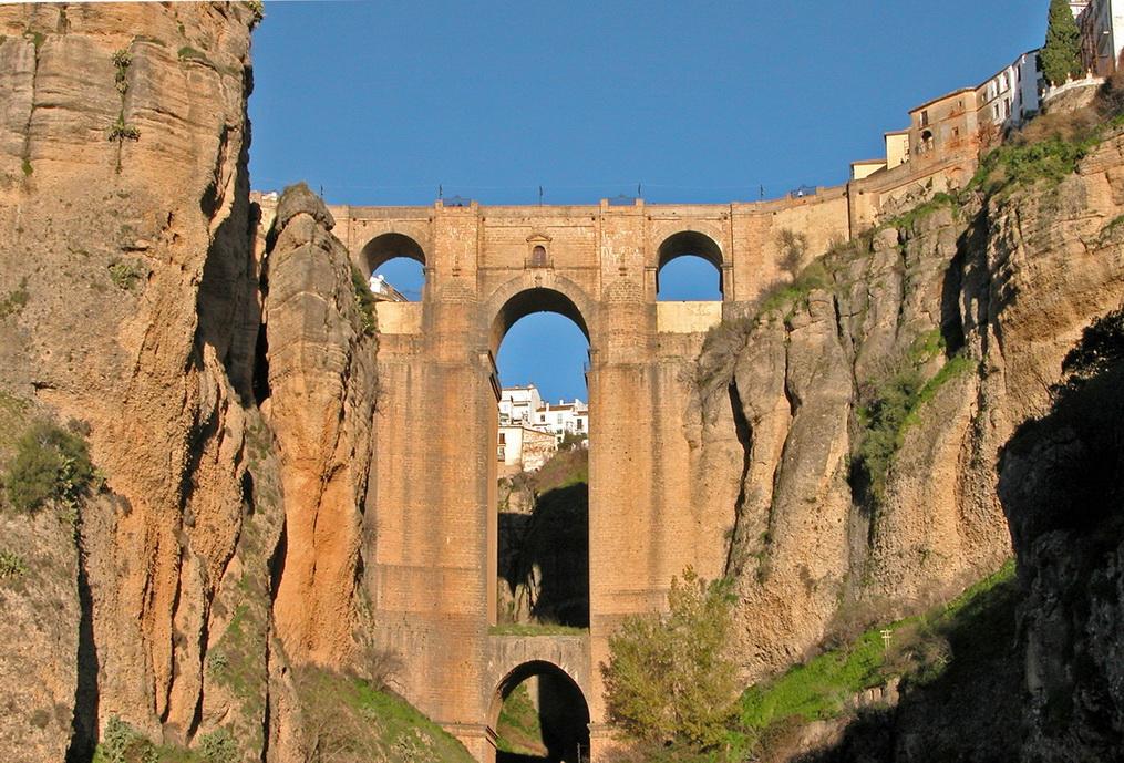 Ronda - мост Puente Nuevo