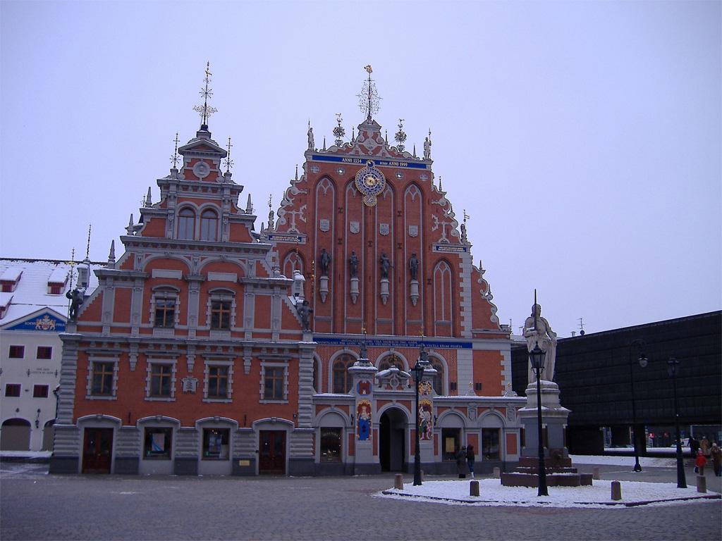 Дом Братства Черноголовых в Риге