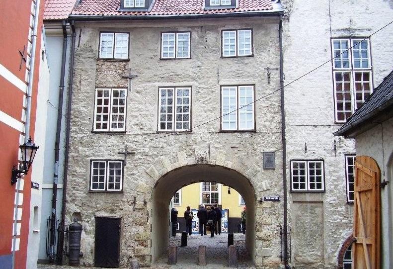 Шведские ворота в Риге