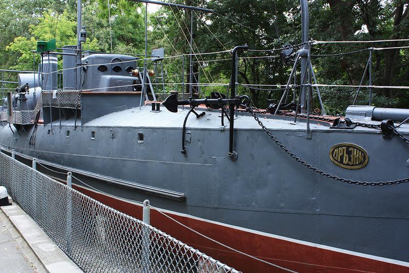 Корабль музей Дрызки в Варне