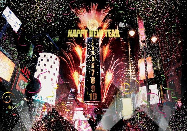 Новый год на Таймс Сквер