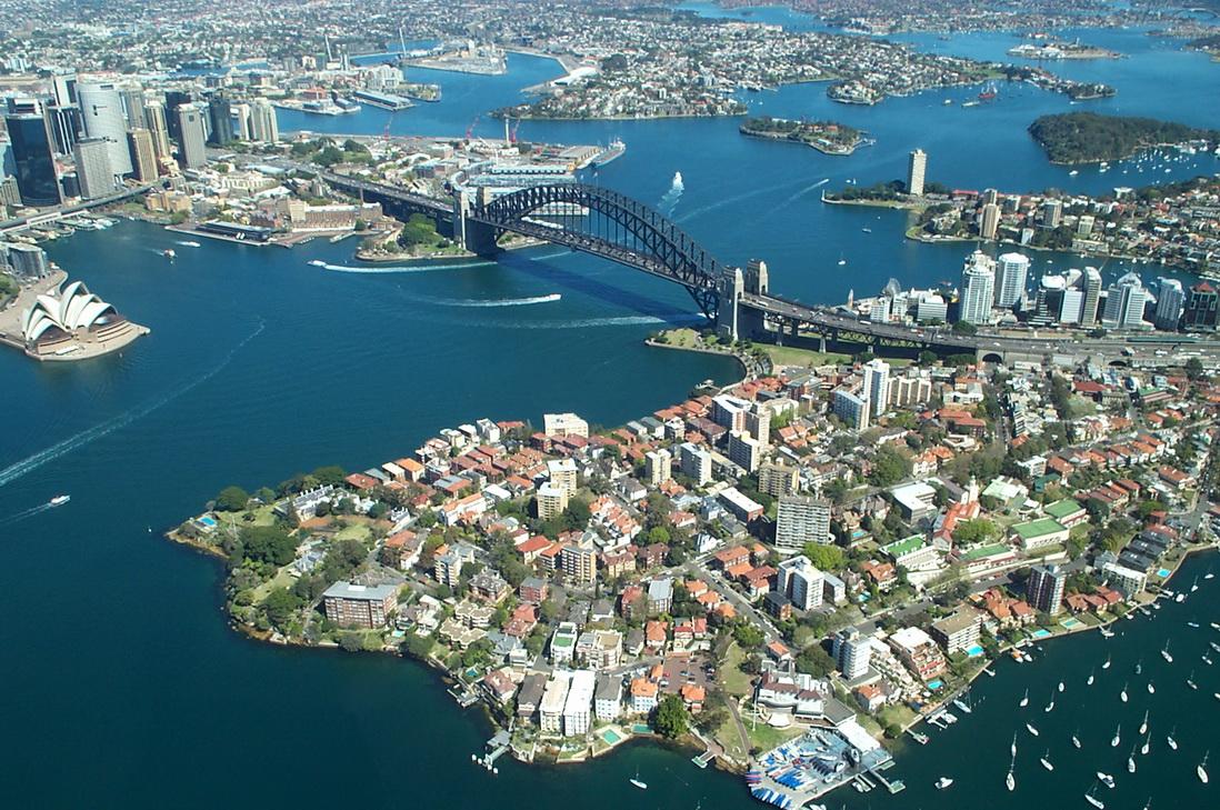 Сидней. Панорама