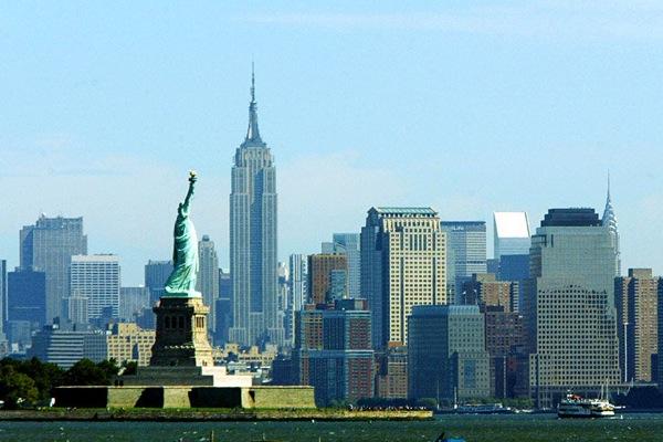 Статуя Свободы. Манхэттен