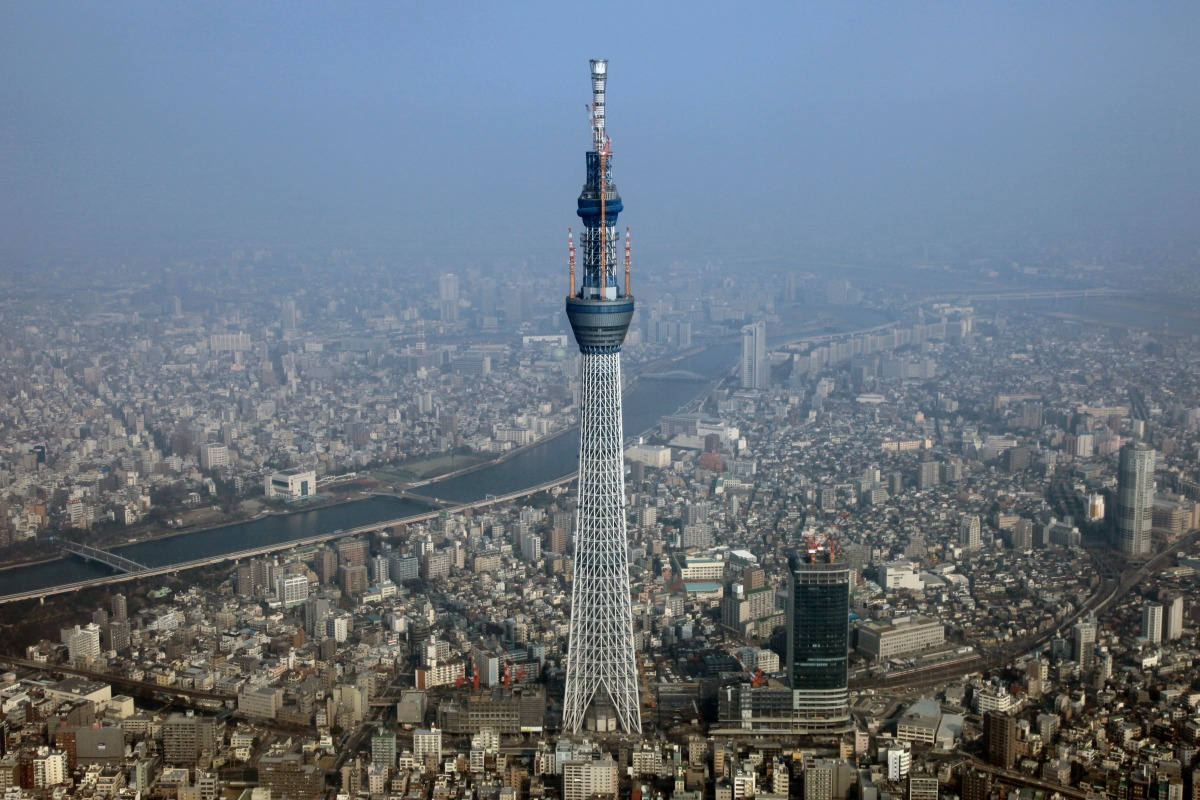 Телебашня Tokyo Sky Tree