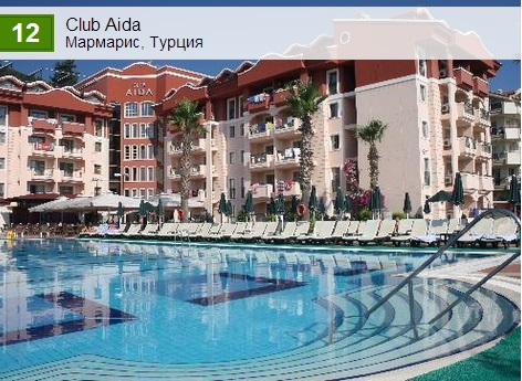 Club Aida. Мармарис
