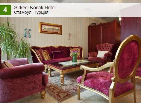 Sirkeci Konak Hotel. Стамбул