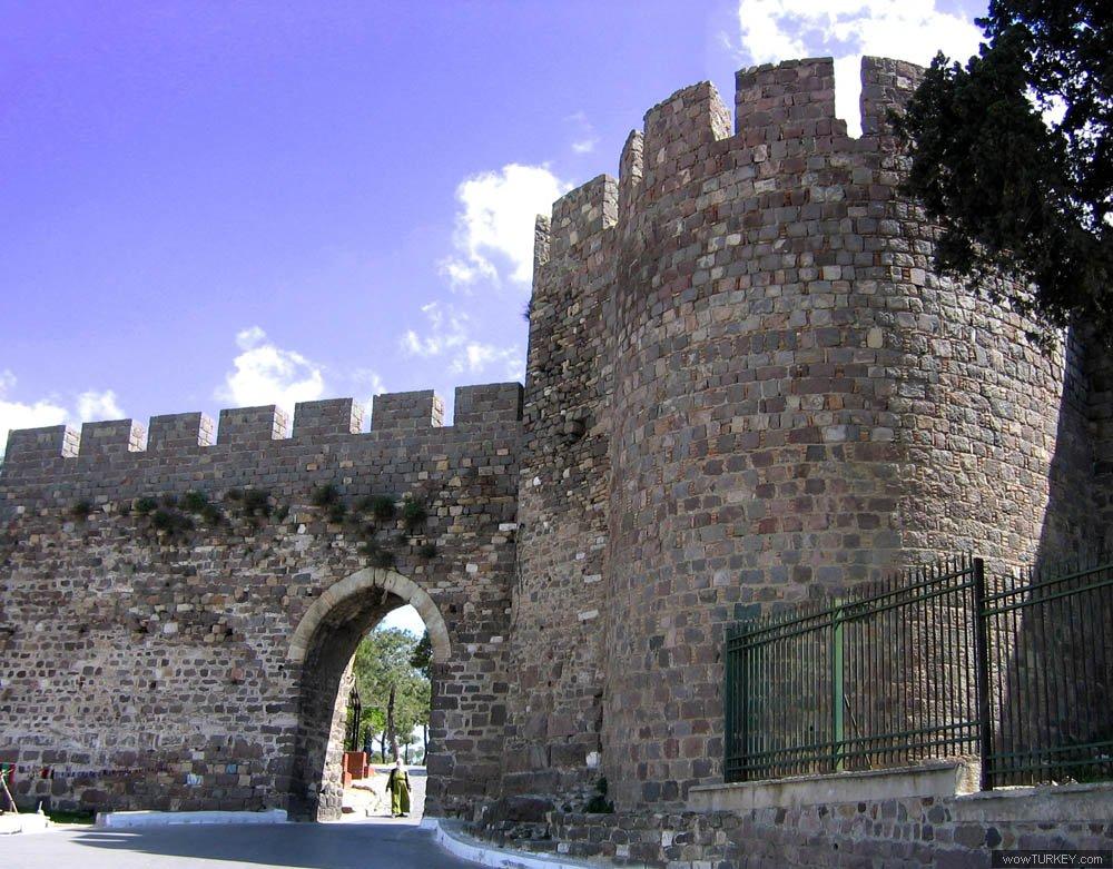 Бархатная крепость в Измире
