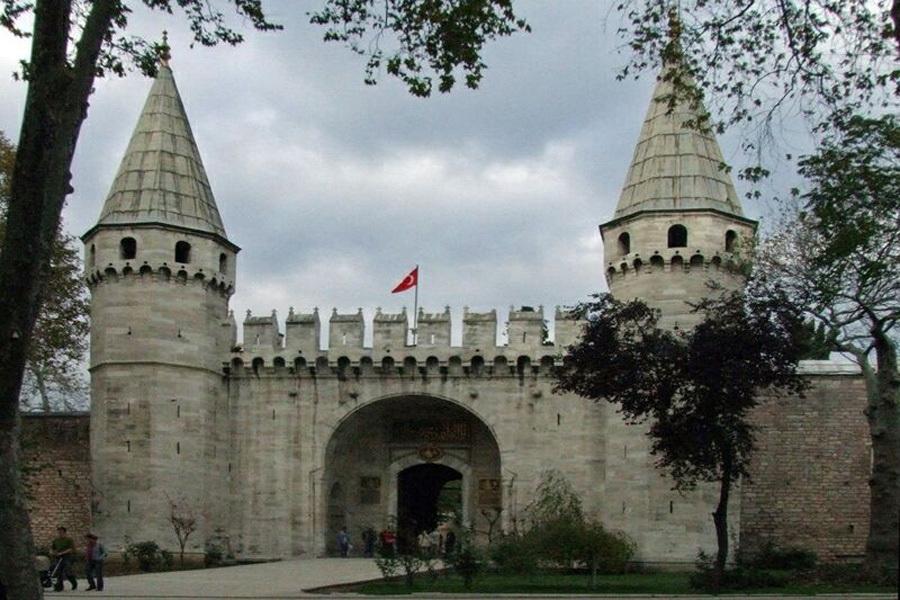 Дворец Топкапы. Ворота