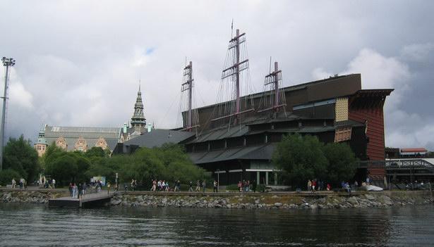 Здание музея Васа снаружи
