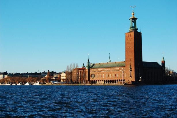 Здание Ратуши в Стокгольме