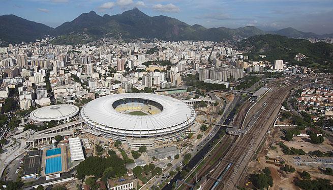 Стадион Маракана с высоты