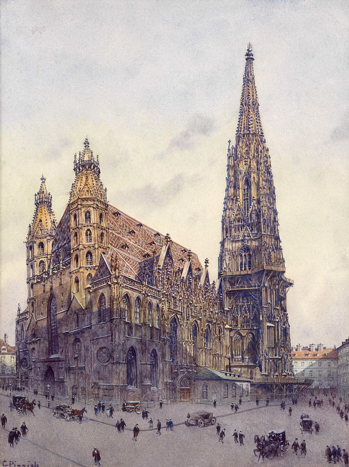 Собор св. Стефана, Что посмотреть в Вене