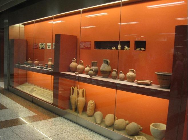Археологические находки в афинском метро, что посмотреть в Афинах