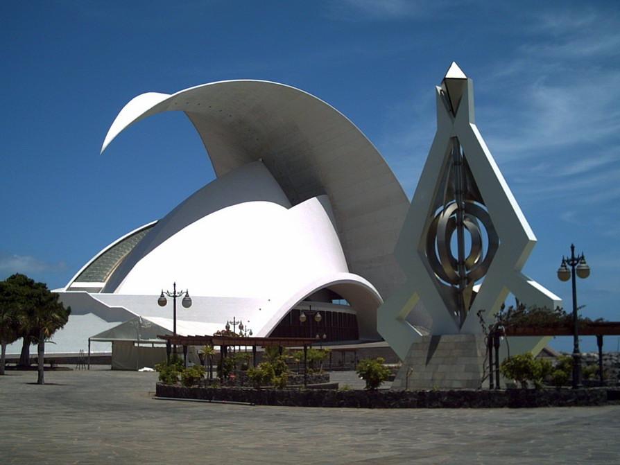 Здание оперы в Санта Крус