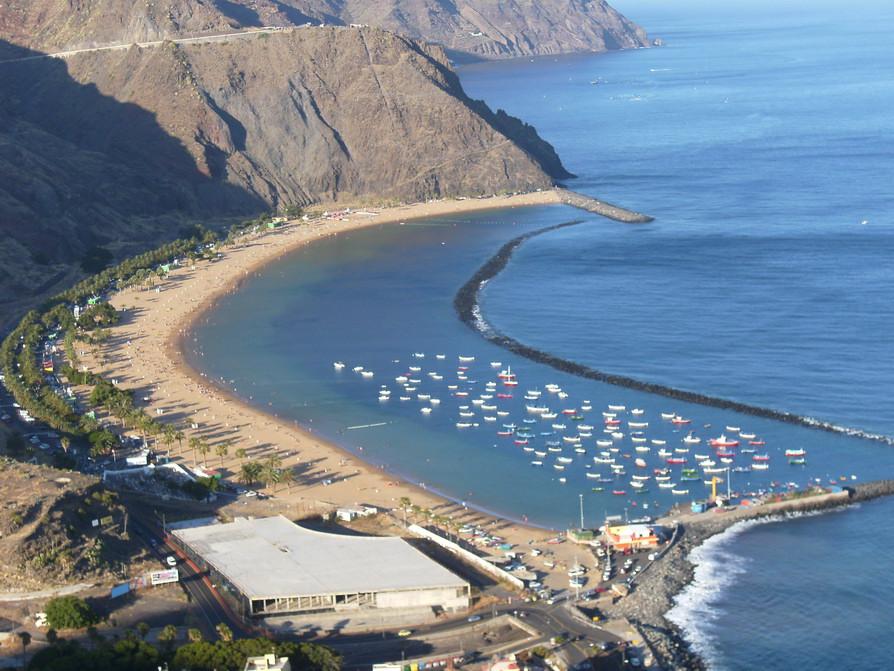 Пляж де Лас Тереситас
